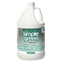 Simple Green Crystal Industrial Cleaner/Degreaser, 1gal, 6/Carton