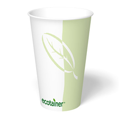 ecotainer Paper Hot Cup, 16 oz.