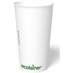 ecotainer Carte Blanc Paper Hot Cup, 20 oz.