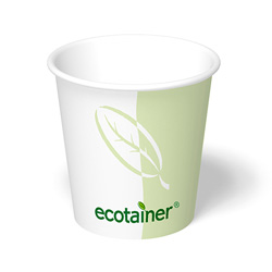ecotainer Paper Hot Cup, 4 oz.