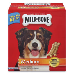 Milk-Bone® Original Medium Sized Dog Biscuits, Original, 10 lbs, 10/Carton