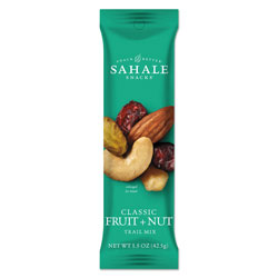 Sahale Snacks Glazed Mixes, Classic Fruit Nut, 1.5 oz, 18/Carton