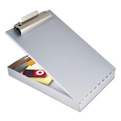 Saunders Redi-Rite Aluminum Storage Clipboard, 1 in Clip Cap, Holds 8.5 x 12 Sheets, Silver