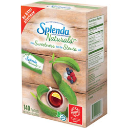 Stevia In The Raw Sweetener, Non-GMO, Zero-Calorie, 140/BX