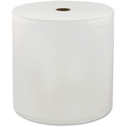 Solaris Hardwound Roll Towels, 1-Ply, 6RL/CT, White