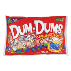 Spangler Candy Dum-Dum-Pops, Assorted Flavors, Individually Wrapped, 300/Pack
