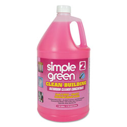 Simple Green Clean Building Bathroom Cleaner Concentrate, Unscented, 1gal Bottle