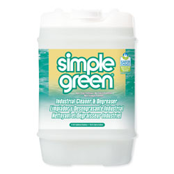 Simple Green Industrial Cleaner and Degreaser, Concentrated, 5 gal, Pail