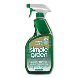 Simple Green Industrial Cleaner and Degreaser, Concentrated, 24 oz Spray Bottle