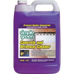 Simple Green Concrete/Driveway Cleaner, 1Gal, Clear