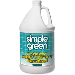 Simple Green Lime Scale Remover, Nonabrasive/Nonflammable, 1 Gallon, 6/CT