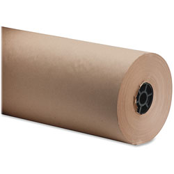 "Sparco Bulk Wrapping Paper, 18""Wx1050', 8 1/2"" Diameter, Kraft"