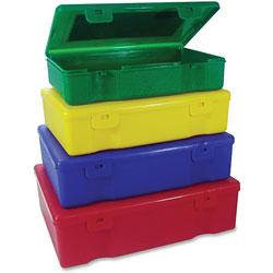 Sparco 4-In-1 Storage Box, 6 inx9 inx2 in, 24/ST, Ast