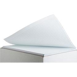 """Sparco Computer Paper, 1/6"""" Greenbar, 1 Part, 20 lb., 14 7/8""""x11"""""""