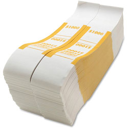 Sparco Bill Strap, $1000, White/Yellow