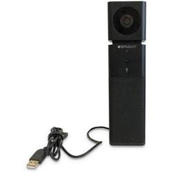 Spracht Aura Video Mate HD, 1920 pixels x 1080 pixels, 2.1 Mpixels, Black