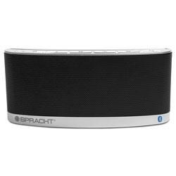 Spracht blunote 2 Portable Wireless Bluetooth Speaker, Silver