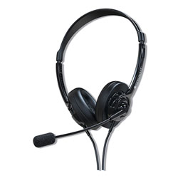 Spracht ZuM ZuM350B, Binaural, Over The Head Headset