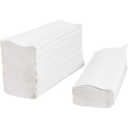 Private Brand Multifold Towels, 9-2/5 in x -1/4 in, 250SH/PK, White