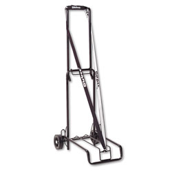 Stebco / Bond Street Luggage Cart, 125 lb Capacity, 13 x 10 Platform, Black Steel