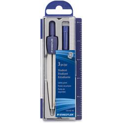 Staedtler Metal Compass Set, Blue/Silver