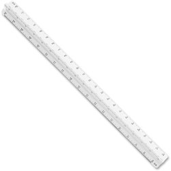 Staedtler Plastic Triangular Scales, For Architects, 12""
