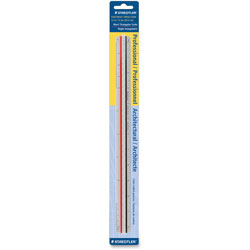 Staedtler Architects Triangular Scale, Mars, ALM, 12 in, Silver