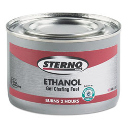 Sterno Ethanol Gel Chafing Fuel Can, 170g, 72/Carton
