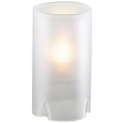 Sterno Nikola Flameless Candle Holder, Frost