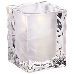 Sterno Joule Flameless Candle Holder, Frost