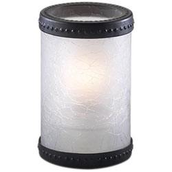 Sterno Madison Flameless Candle Holder, Frost
