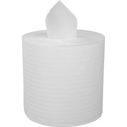 Stefco Center Pull Towels, 7-3/5 inx8 in, 600 Sheets, 6RL/CT, White