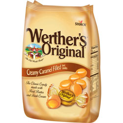 Storck Classic Caramel Candies, Creamy, Werther's