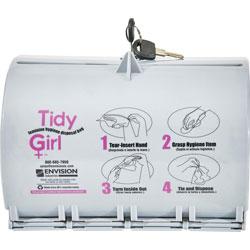 Stout Tidy Girl Plastic Feminine Hygiene Disposal Bag Dispenser
