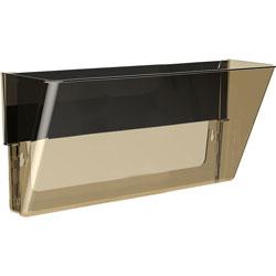Storex Magnetic Wall Pocket, Letter/Legal, 500 Sheet Cap, Smoke