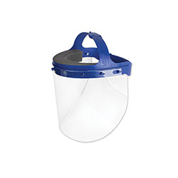 Suncast Fully Assembled Full Length Face Shield with Head Gear, 16.5 x 10.25 x 11, 16/Carton