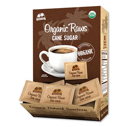 Maui Brand Raw Turbinado Sugar Packets, 0.16 oz Packet, 200 Packets/Box