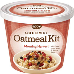 Sugar Foods Oatmeal Cup, Individually Wrapped, Morning Harvest, Case of 8