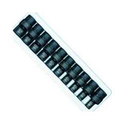 "Sunex 10 Piece 3/8"" Drive Standard Metric Universal Socket Impact Set"