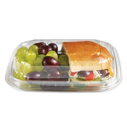 Placon Crystal Seal reFresh 7 x 6 in Angled Container