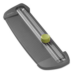 Swingline SmartCut Compact Personal Rotary Trimmer, 5 Sheets, Plastic Base, 5 x 16 1/2