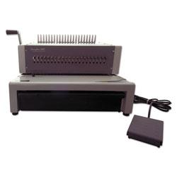 Swingline CombBind C800pro Binding System, Binds 500, 18 1/2 x 19 5/16 x 14 7/8, Gray