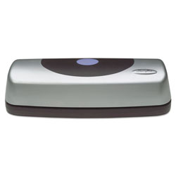 Swingline 15-Sheet Electric Portable Desktop Punch, Silver/Black