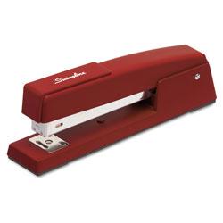 Swingline 747 Classic Full Strip Stapler, 20-Sheet Capacity, Lipstick Red