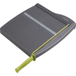 Swingline Economy Paper Trimmer, 12 in Long, 12-3/4 in x 16-3/4 in x 1-1/2 in, Gray
