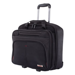 Swiss Mobility Purpose Business Case On Wheels, Holds Laptops 15.6 in, 8.5 in x 8.5 in x 16 in, Black