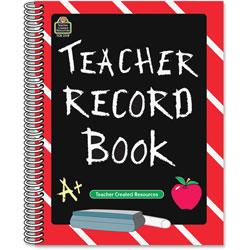 Teacher Created Resources Teacher Record Book