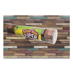 Teacher Created Resources Better Than Paper Bulletin Board Roll, 4 ft x 12 ft, Reclaimed Wood
