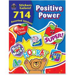 Teacher Created Resources Sticker Book, Positive Power, 714/Pack