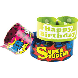Teacher Created Resources Slap Barcelet Set, 2/ST